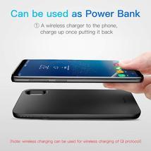 Baseus 5000mAh QI Wireless Charger Case External Battery Wireless Charging image 3