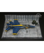 Modern USAF Airfield diorama base 1:72 Pro Built Model(aircraft is not i... - $148.50