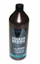 Redken Brews with Crafted Malt Mint Shampoo 33.8 fl oz  - $24.99