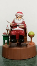 "Solar Powered Rocking Chair Santa Christmas Decoration (From ""Christmas House""). - $7.84"
