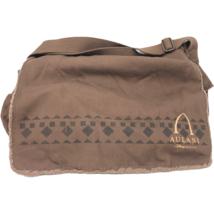 Walt Disney Imagineering Exclusive Aulani Brown Garment Crossbody Messenger Bag - $49.49