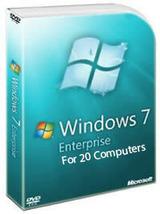 Windows 7 Enterprise 20pc - $75.00