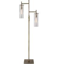 Adesso 3853-21 Floor Lamps Antique Brass Metal Dalton - $250.00