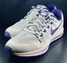 NEW Nike Air Zoom Vomero 12 Grey Purple Running Shoes 887026-051 Size 13 - $148.49