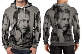bon iver painting art image Hoodie Zipper Fullprint Men - $46.80