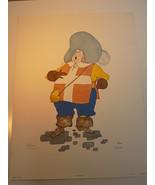 PORTHOS LIMITED PRINT by MORAN Hand Drawn Watercolor Print artwork 254 o... - $45.53