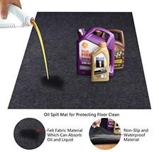 KALASONEER Oil Spill Mat,Absorbent Oil Mat Reusable Washable,Contains Li... - $30.94