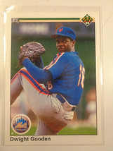 1990 Upper Deck #114 Dwight Gooden N.Y. Mets ~ NM - $1.88