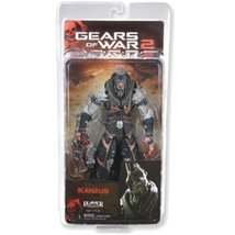 Gears of War NECA Series 6 Action Figure Kantus Priest Gorgon Pistol - $83.66