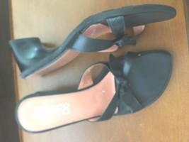 Ladies Heels Size 8 by Franco Sarto -Black -Open Toe - $6.68