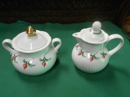 "Beautiful DANSK Dinnerware ""Rosebud""..CREAMER & FREE Sugar - $9.49"