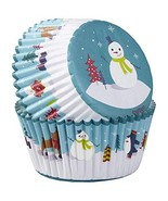 Snowman and Friends Baking Cups Cupcake Liners 75 Ct - $9.99