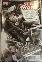 Star Wars #1 Marvel Comics 2015 Limited Edition Comix Deodato B/W - $78.39
