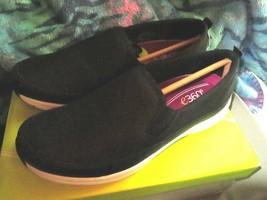 Ladies easyspirit e360 ESSAMMI Black shoes size 7.5M brand New - $40.00