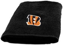Cincinnati Bengals Bath Towel measures 25 x 50 inches - $17.95