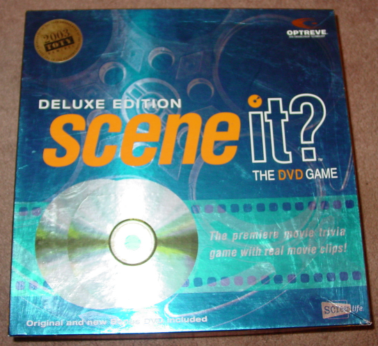 SCENE IT DVD GAME DELUXE EDITION 2004 MATTEL SCREENLIFE LIGHTLY PLAYED CONDITI