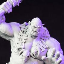 Warrior - Orc - Chieftan - 3D - Printed HQ - Resin Miniature - Unpainted - 32 an - $14.99