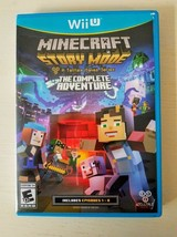 Minecraft: Story Mode (Wii U, 2015) The Complete Adventure [Telltale] Game - $19.79