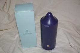Partylite Wild Blueberry 3 x 7 Bell Top Pillar -b - $16.00