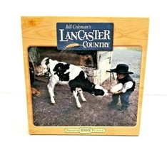 Bill Coleman's Lancaster Country Premium 1000 Piece Puzzle Early Learning SEALED - $14.95