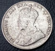 1929 Canada Nickel - 5 Cents - KGV Coin - Nice Grade - $4.32