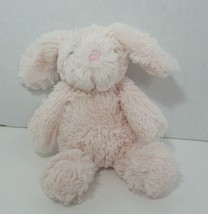 Manhattan Toys Pink Plush soft small bunny rabbit 2015 stuffed animal  - $6.92