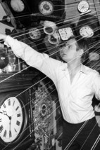 David Mccallum As Tone Hobart In The Outer Limits 24x18 Poster With Clocks - $23.99