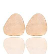 Youmi Druzy Stone Clip on Earrings Candy Color Big Triangle Druzy Earrin... - $10.24