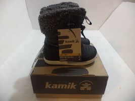 Kamik Dashaway Boot (Toddler/Little Kid/Big Kid) Size 9 Color Charcoal - $37.39