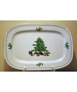 """Tienshan Holiday Hostess Oval Platter 14"""" x 9 1/2"""" - $13.85"""