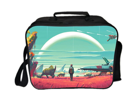No Man's Sky Lunch Box Summer Series Lunch Bag Outdoors - $19.99