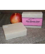 Homemade Goat's Milk Soap -Fresh Peach - $6.44