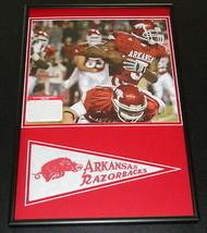 Darren McFadden Framed 12x18 Pennant & Photo Display Arkansas Razorbacks - $45.45