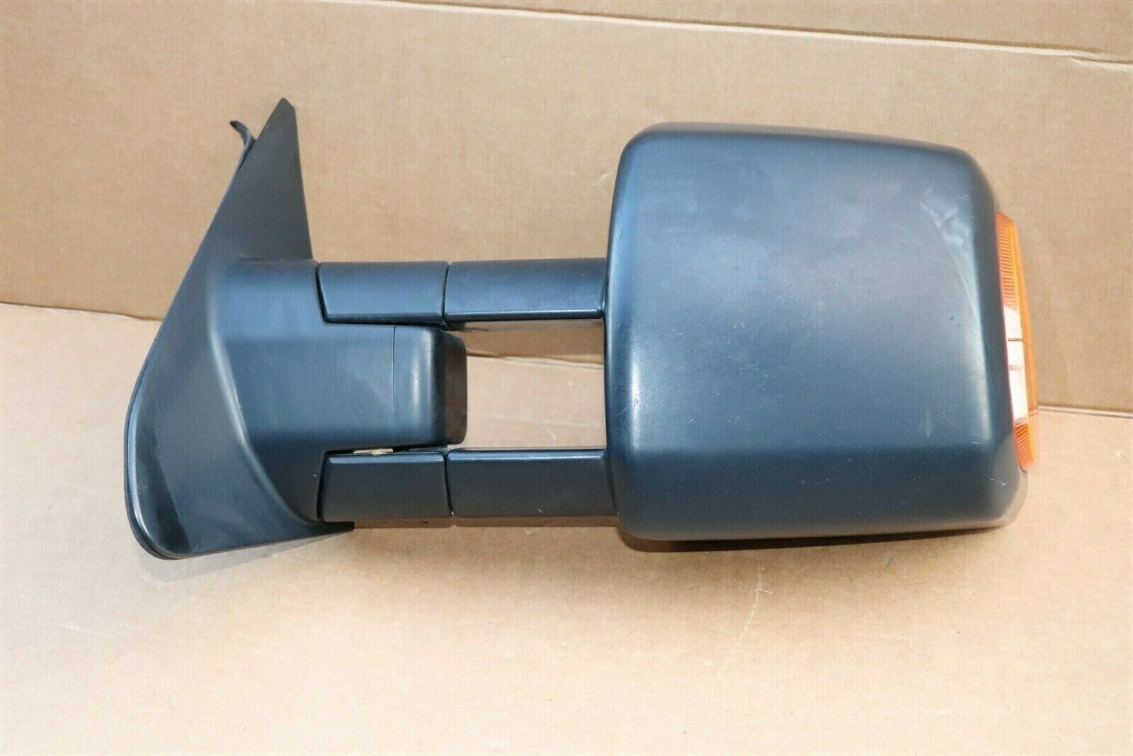 07-13 Toyota Tundra Heated Power Door Tow Towing Mirror W/ Signal Driver Left LH
