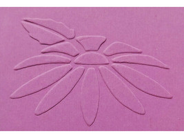 Sizzix Metal Embossing Plate, Daisy Flower #38-9532 image 2