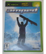 XBOX - AMPED - FREESTYLE SNOWBOARDING (Complete with Manual) - $12.00