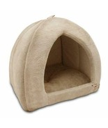 Pet Tent Comfy Cozy Bed For Dogs Cats Soft Poly-Foam Plush Pillow Durabl... - $65.44