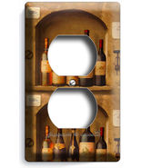 TUSCAN KITCHEN ITALIAN DINING WINE BOTTLE CELLAR DUPLEX OUTLET WALL PLAT... - $8.99