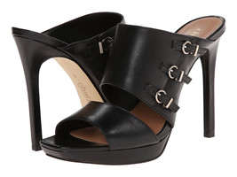 new charles by charles david salem platform sandal black leather size 6 M - $70.00