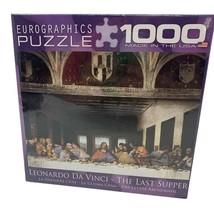 SEALED The Last Supper Leonardo Da Vinci Jigsaw Puzzle 1000 pieces Eurographics - $14.84