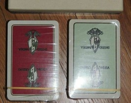 NEW Viking Cruises Playing Cards 2 decks by Piatnik Made in Austria - $31.49