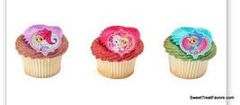 Shimmer and Shine CupCake Cake Topper 12 18 24 Favors Decoration Birthda... - $7.87+