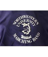 Northwestern University marching band Jacket Coat Satin 80s Mint M - $47.50
