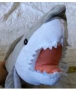 "Wish Pets Great White Shark Stuffed Animal approx 27"" long - $10.40"