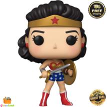 Funko Pop! Heroes: Wonder Woman 80th Collectible Vinyl Figure (Golden Age) - $17.69