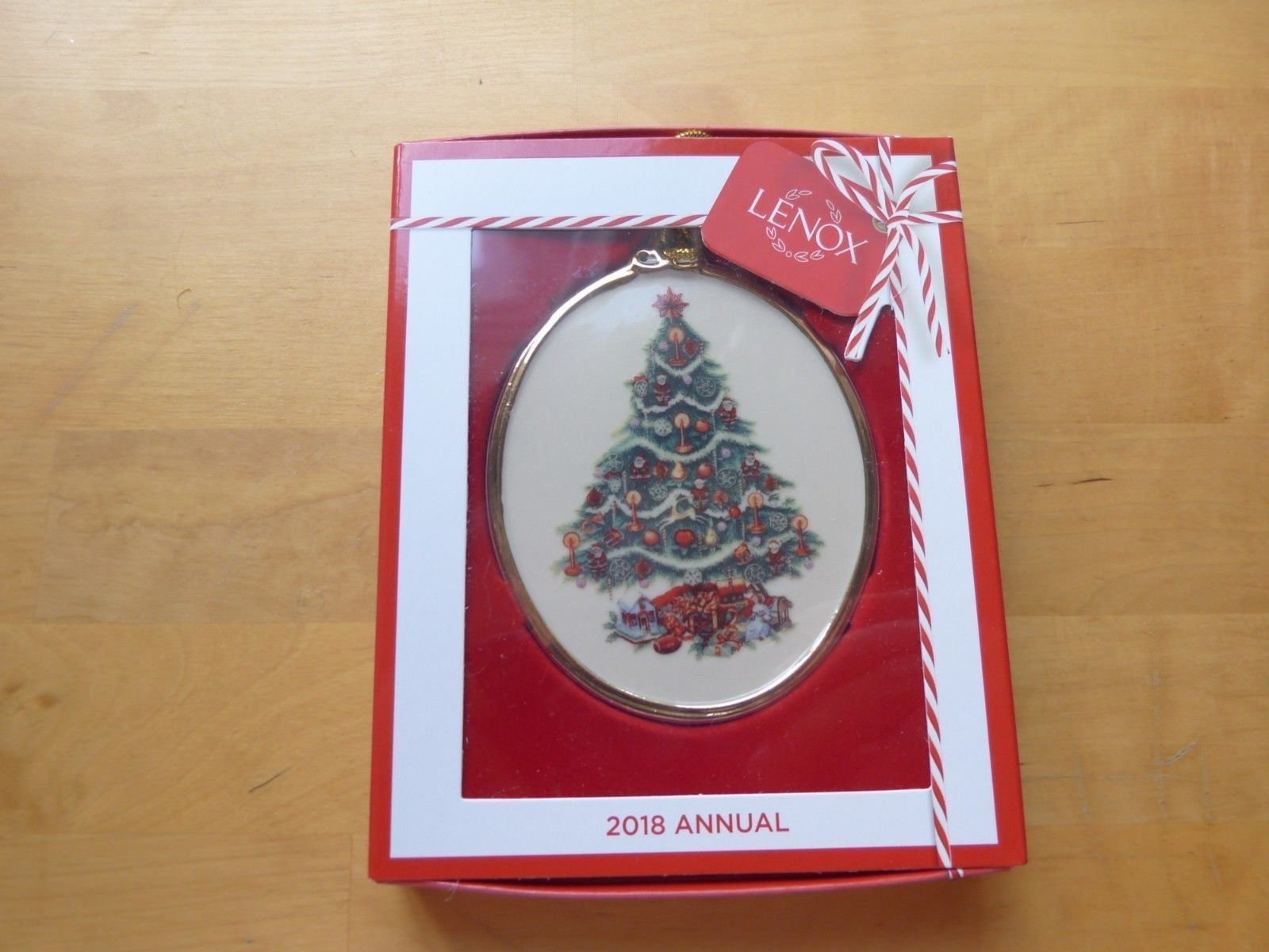 Lenox 2018 USA Trees Around The World Ornament Annual America Christmas Gift NEW