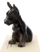 Hagen-Renaker Miniature Ceramic Dog Figurine Scottish Terrier Pedigree Pup image 1