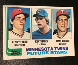 1982 Topps Kent Hrbek  RC #766 Rookie - $1.93