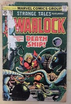 STRANGE TALES #179 Warlock by Jim Starlin (1975) Marvel Comics POOR - $9.89