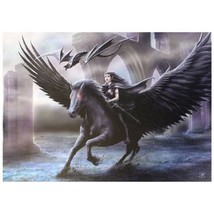 """Nemesis Now: Realm Of Darkness Canvas on Wood Frame by Anne Stokes  20"""" ... - €26,47 EUR"""